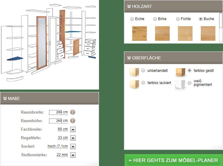 Möbelkonfigurator
