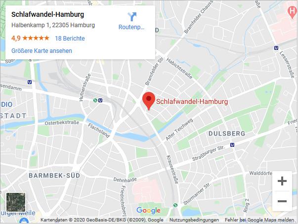 Anfahrt Schlafwandel Hamburg